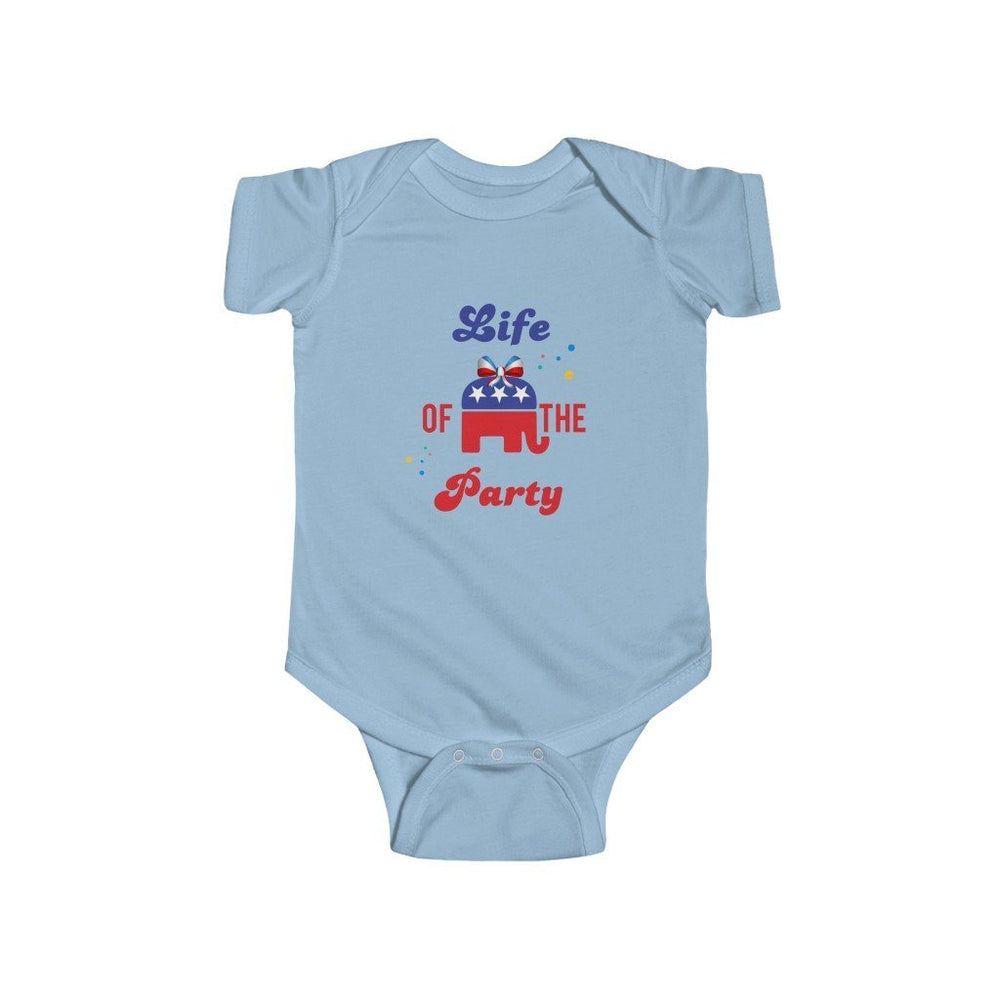 """Life of the Party"" Infant Onesie"