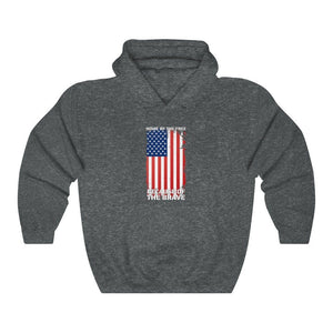 """Home of the Brave"" Men's Hoodie"