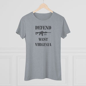 "Load image into Gallery viewer, ""Defend West Virginia"" Women's T-Shirt"