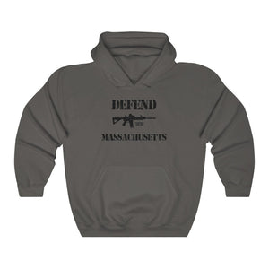"Load image into Gallery viewer, ""Defend Massachusetts"" Men's Hoodie"