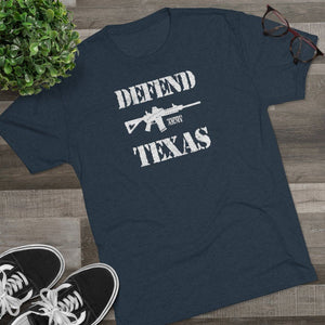 "Load image into Gallery viewer, ""Defend Texas"" Men's T-Shirt"