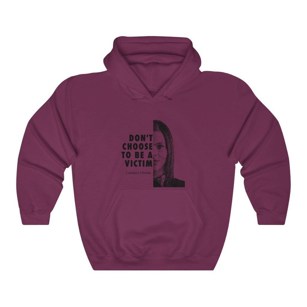 "Load image into Gallery viewer, ""Don't Be a Victim"" Women's Hoodie/Sweatshirt"