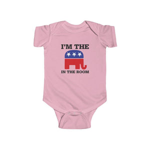 """I'm The Elephant in the Room"" Infant Bodysuit"