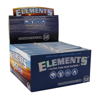 Elements Connoisseur - King Size Slim (with tips)