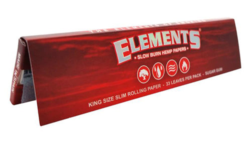 Elements Red King Size - Slim