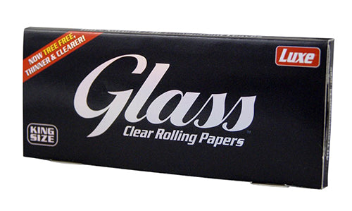 Luxe Glass Clear Paper - King Size