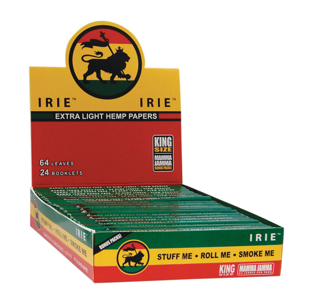 Irie King Size Light Hemp Paper