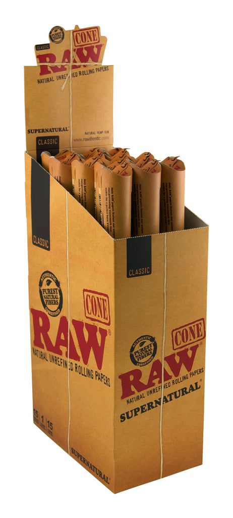 Raw Classic Pre-Rolled Cone Giga - Supernatural