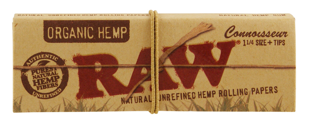 Raw Organic 1 ¼ Connoisseur (with tips)
