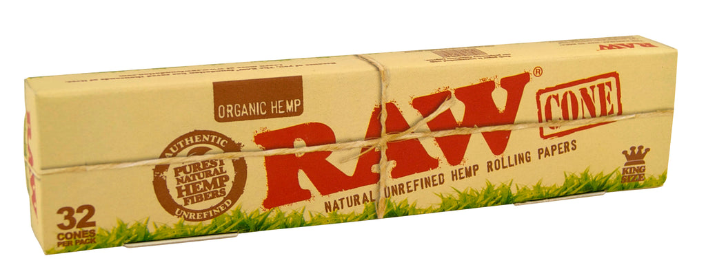 Raw Organic Pre-Rolled Cones - King Size