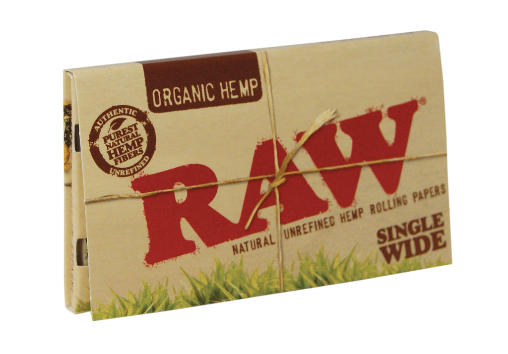 Raw Organic Papers - Single Wide Double Window