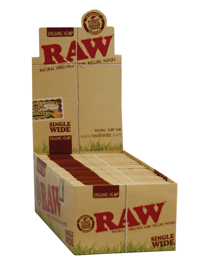 Raw Organic Papers - Single Wide Single Window