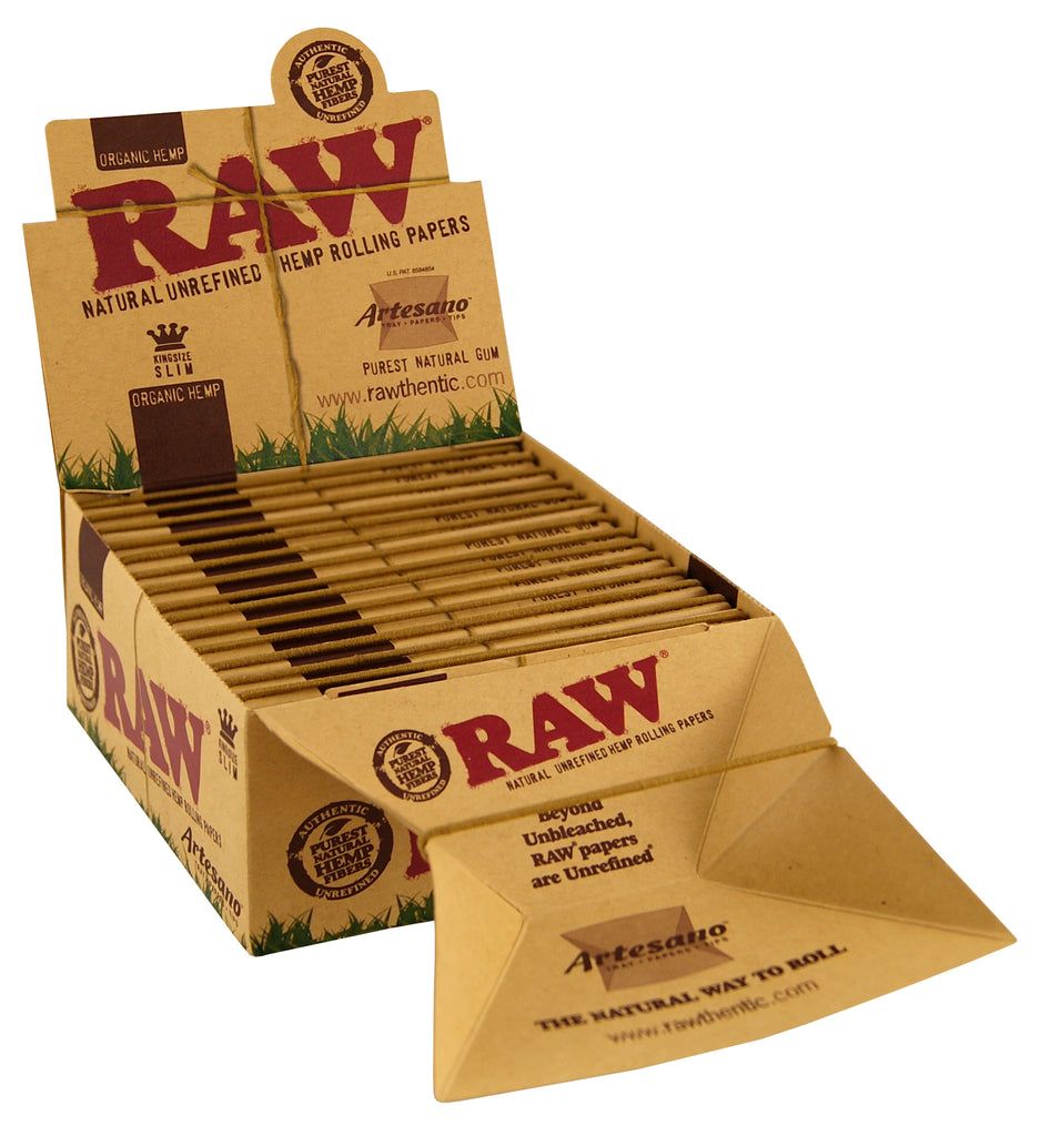 Raw Organic Artesano - King Size Slim (with tips)