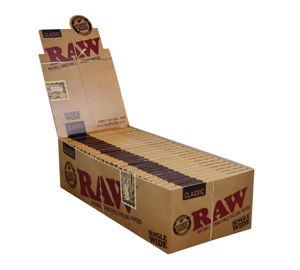 Raw Classic Papers - Single Wide Double Window