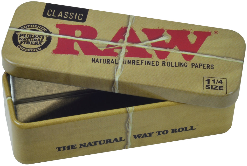 Raw Tin Cone Caddy Storage for Pre-Rolled 1¼ Cones
