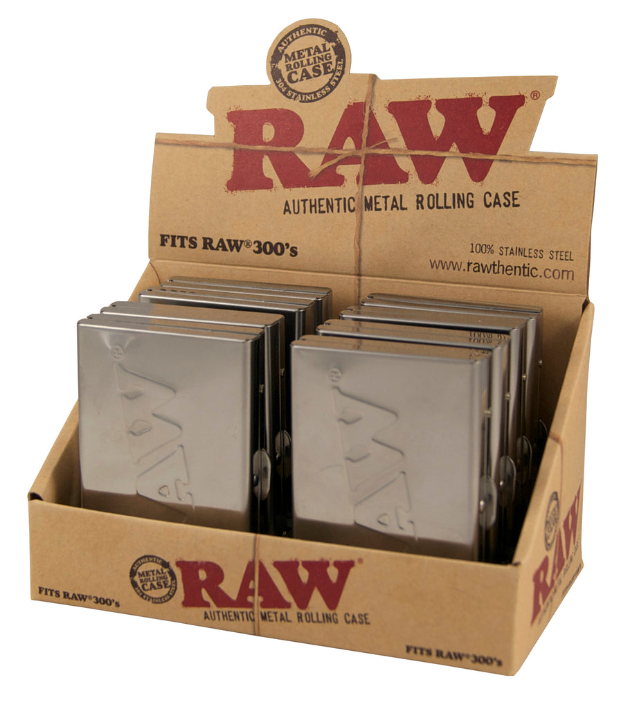 Raw Steel Paper Tin for Raw 300's - 1¼