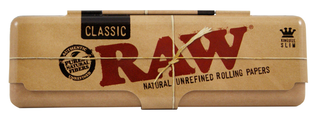 Raw Classic Metal Paper Case Tin for King Size