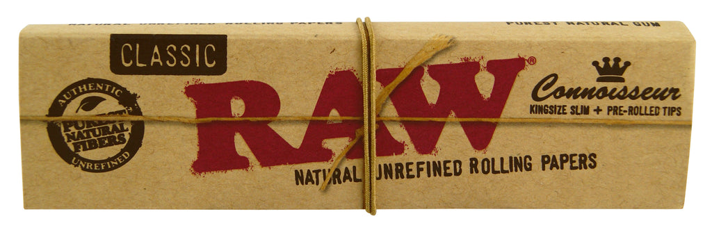 Raw Connoisseur - King Size Slim (with pre-rolled tips)