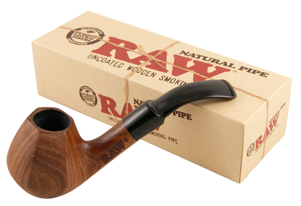 Raw Natural Wooden Pipe