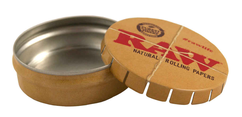 Raw Pop-Up Tin Case