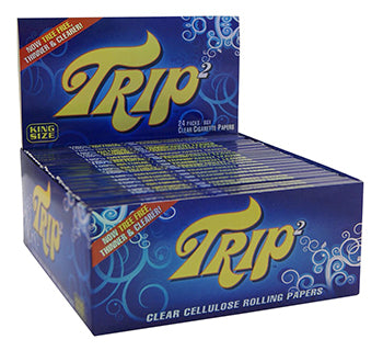 Trip²  King Size Clear Paper