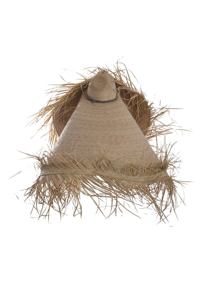 NATURAL PALAPA HAT - LOOP NATURAL