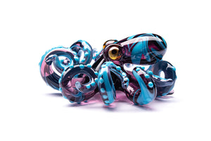 Blown Glass Octopus glass figurine