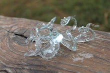 Load image into Gallery viewer, Blown Glass Octopus, Ocean, Octopus Sculpture