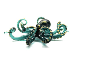 Blown Glass Octopus Sculpture