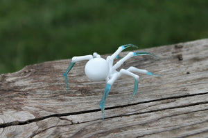 Spider glass sculpture