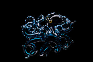 Blown Glass Octopus glass figurine Octopus Glass Ocean Octopus  Kraken Glass Octopus Figurine