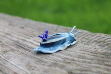 Load image into Gallery viewer, Sea Slug glass sculpture - slug figure - Sea Slug - Nudibranch