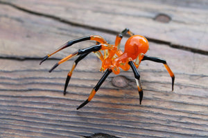 Glass Spider, Spider Blown Glass