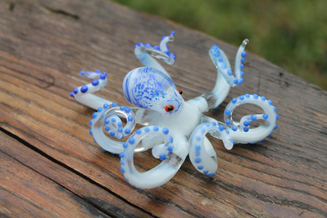 Blown Glass Octopus