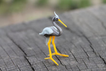 Load image into Gallery viewer, Glass Heron Bird Glass Sculpture