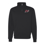 1/4 zip Embroidered Logo Fleece