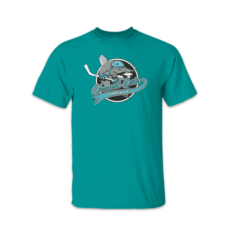 Channel Cats Teal T-shirt
