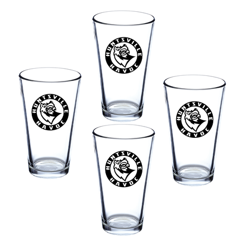Pint Glass Bundle - 4 Pint Glasses