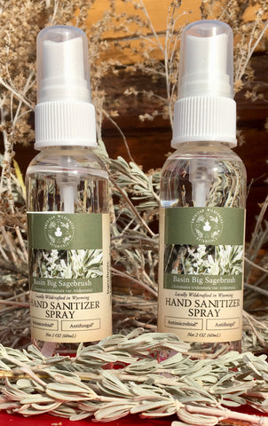 Basin Big Sagebrush Aromatic Hand & Surface Spray