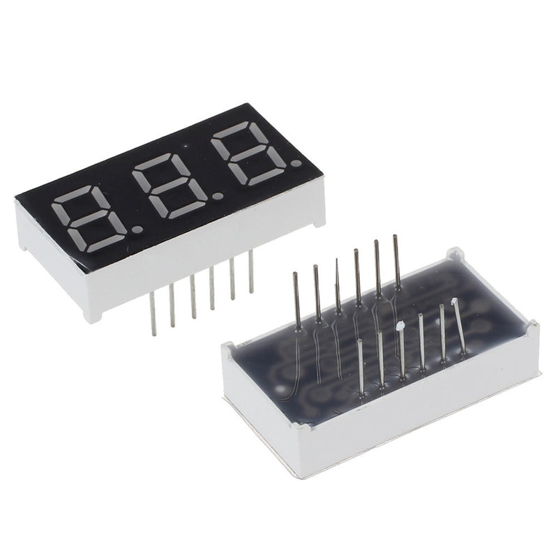 3-Digit 7 Segment 14mm Ortak Katot Display