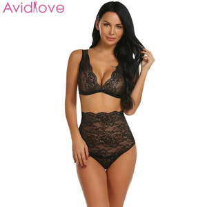 Avidlove Women Sexy Bra Set Lace Push Up Seamless - Pleasure Sexual