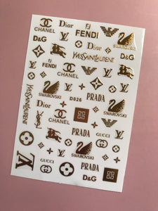 Designer Decal Sticker #9