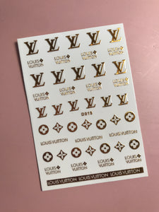 Full Designer Sticker Collection (14 Pieces)