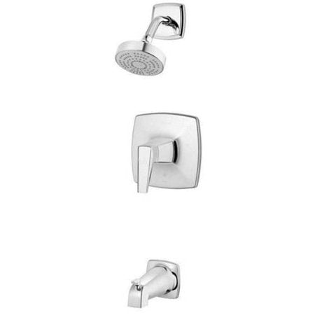 Pfister Arkitek Tub & Shower Trim Kit Single Function Shower Head Chrome - NewBathroomFaucets.com