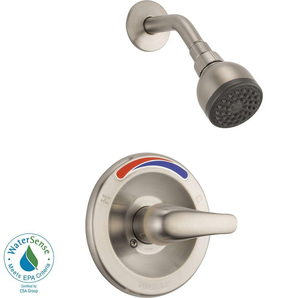 Peerless P299578LF Choice Two Handle Bathroom Shower Faucet, Chrome - NewBathroomFaucets.com
