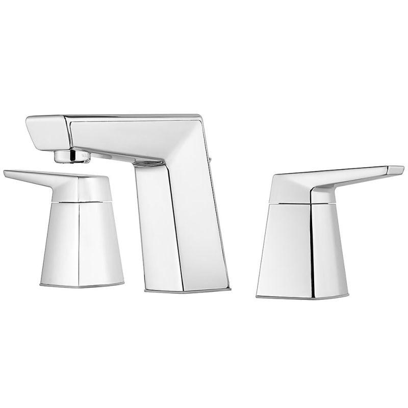 Pfister Arkitek Widespread Bathroom Faucet LG49-LPMC Polished Chrome - NewBathroomFaucets.com