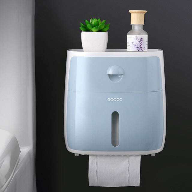 Waterproof Wall Mounted Tissue Holder