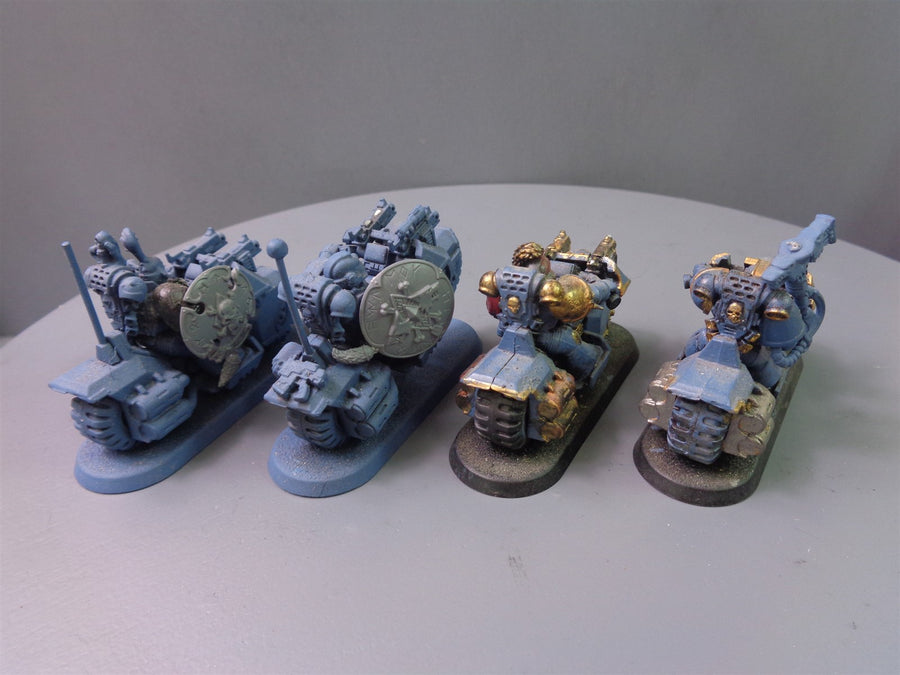 Space  Wolves Wolf Bikers Bike Squad