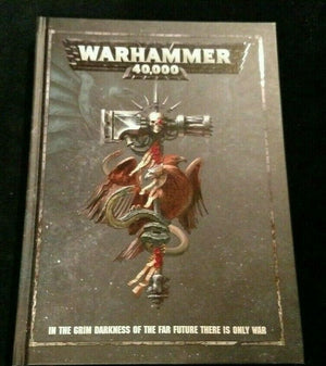 Warhammer 40,000 8th Edition Rulebook Hard Cover - NEW