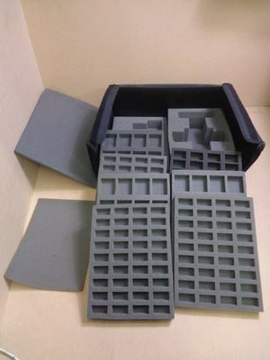 Wargaming Warhammer Miniatures Case with Foam trays 936